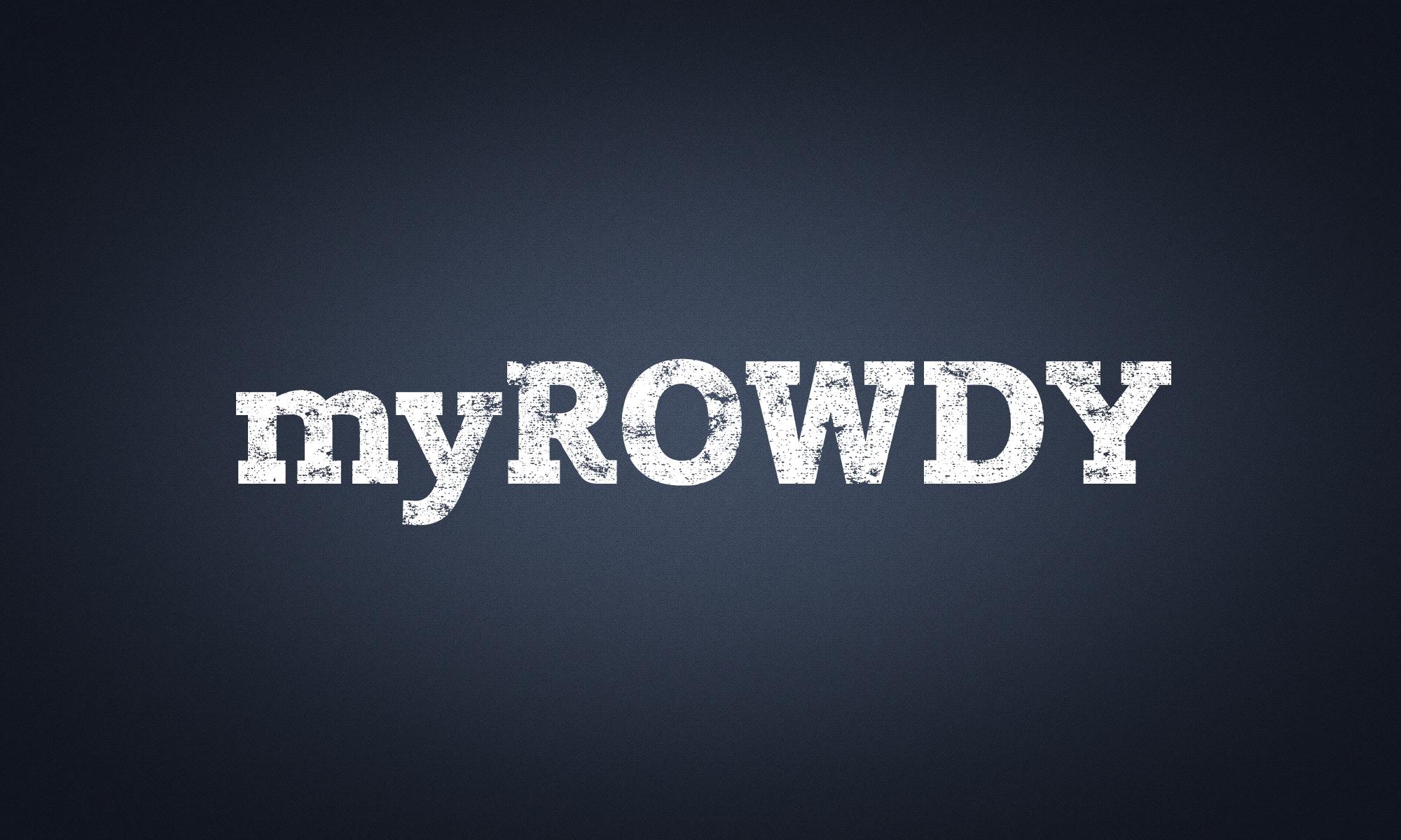 myROWDY